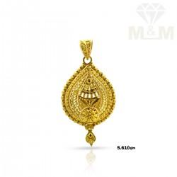 Pleasant Gold Fancy Pendant