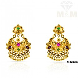 Superbly Gold Fancy Earring