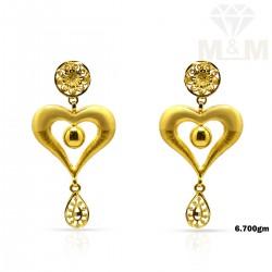 Exemplary Gold Fancy Earring