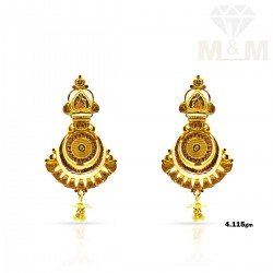Sublime Gold Fancy Earring