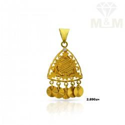 Verdant Gold Fancy Pendant
