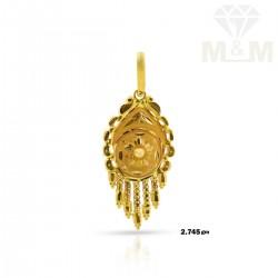 Sweetest Gold Fancy Pendant