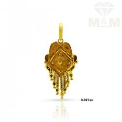 Awesome Gold Fancy Pendant
