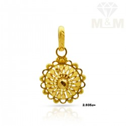 Delectable Gold Fancy Pendant