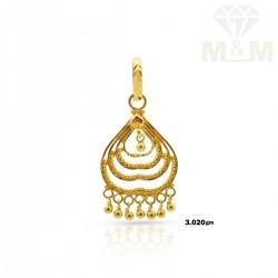 Tasteful Gold Fancy Pendant