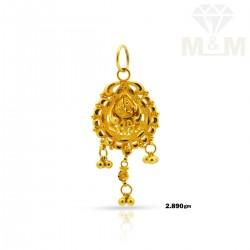 Dazzling Gold Fancy Pendant