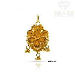Joyful Gold Fancy Pendant