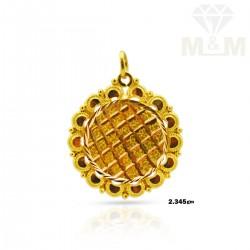 Luxurious Gold Fancy Pendant