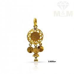 Auspicious Gold Fancy Pendant