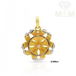 Skilful Gold Fancy Pendant