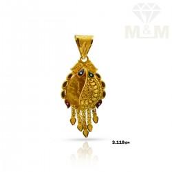 Decent Gold Fancy Pendant