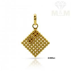 Polite Gold Fancy Pendant