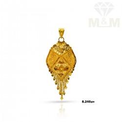 Amiable Gold Fancy Pendant