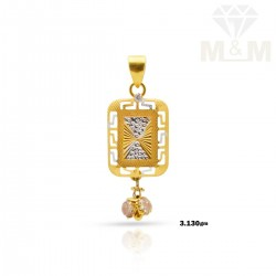 Perfection Gold Fancy Pendant