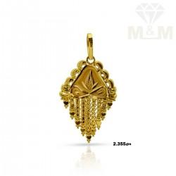 Captivate Gold Fancy Pendant