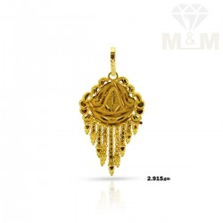 Popular Gold Fancy Pendant