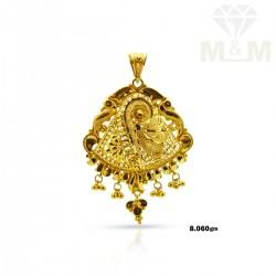 Benzaiten Gold Fancy Pendant