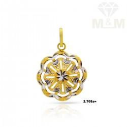 Enthral Gold Fancy Pendant