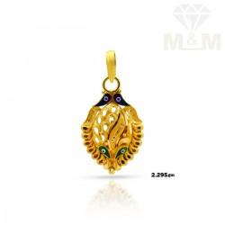 Modern Gold Casting Pendant