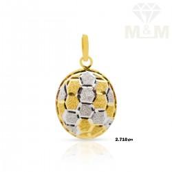 Legend Gold Fancy Pendant