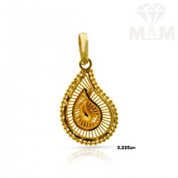 Medieval Gold Fancy Pendant