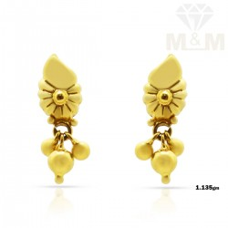 Snazzy Gold Fancy Earring