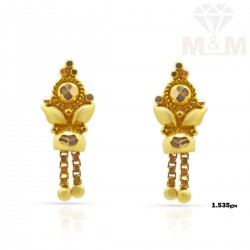 Temptable Gold Fancy Earring
