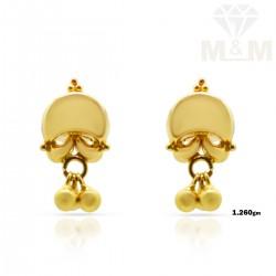 Benzaiten Gold Fancy Earring