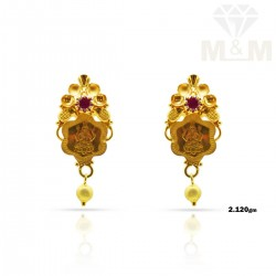 Captivate Gold Fancy Earring
