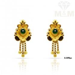 Ethereal Gold Fancy Earring