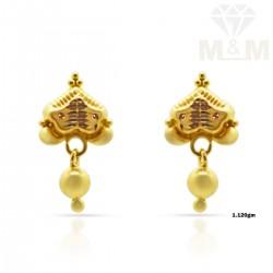 Sweetest Gold Fancy Earring