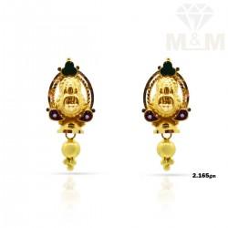 Fabulous Gold Fancy Earring