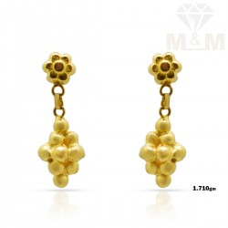 Amazing Gold Fancy Earring