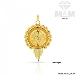 Prolific Gold Fancy Pendant