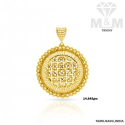 Hallowed Gold Fancy Pendant