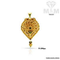 Strangest Gold Fancy Pendant
