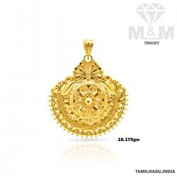 Festivity Gold Fancy Pendant