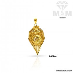 Superior Gold Fancy Pendant