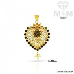Exquisite Gold Fancy Pendant