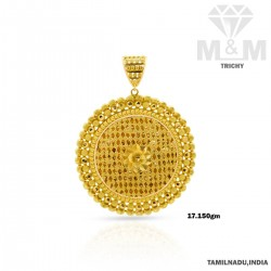 Superbly Gold Fancy Pendant