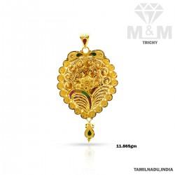 Brilliantly Gold Fancy Pendant