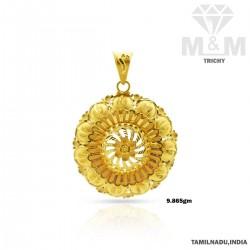 Optimum Gold Fancy Pendant