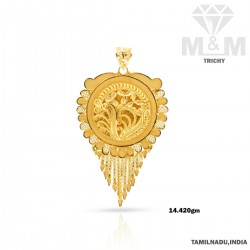 Handsome Gold Fancy Pendant