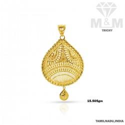 Enormous Gold Fancy Pendant