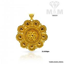 Inheritance Gold Fancy Pendant