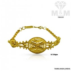 Renowned Gold Fancy Bracelet