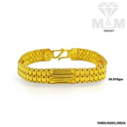 Dazzling Gold Fancy Bracelet