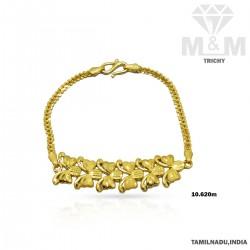 Handsome Gold Fancy Bracelet