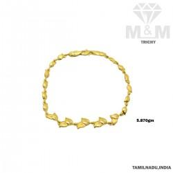 Gorgeous Gold Casting Bracelet