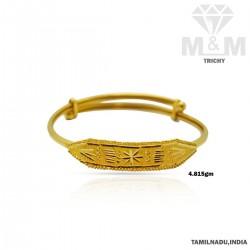 Strangest Gold Fancy Bracelet
